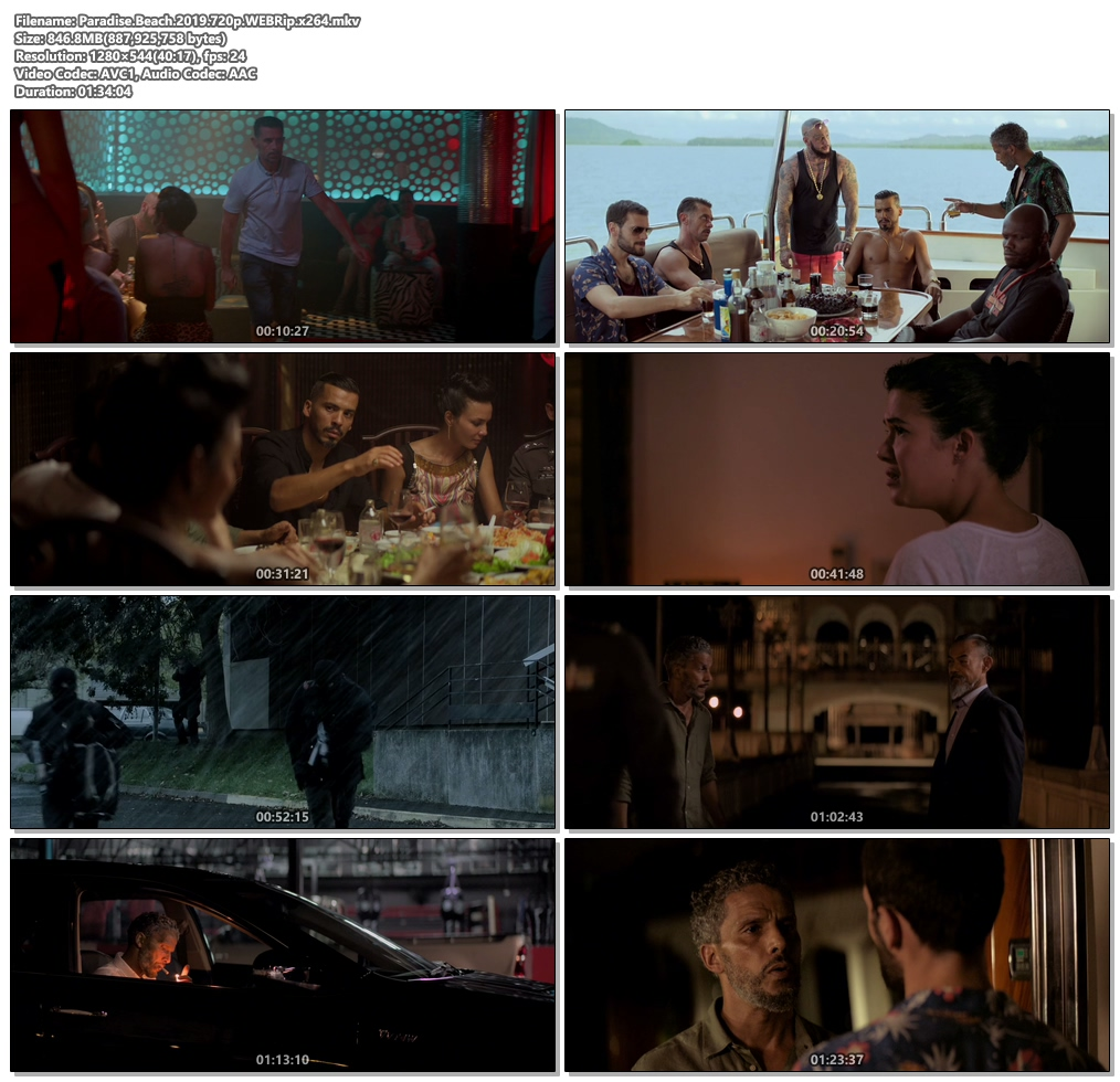 Paradise Beach 2019 720p WEBRip x264 | 480p 300MB | 100MB HEVC Screenshot