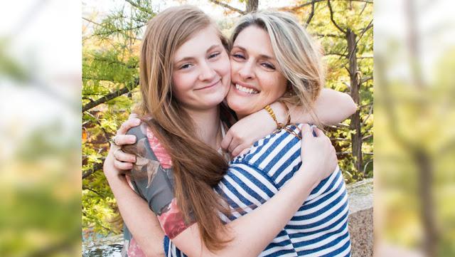 Trinity U student and mom