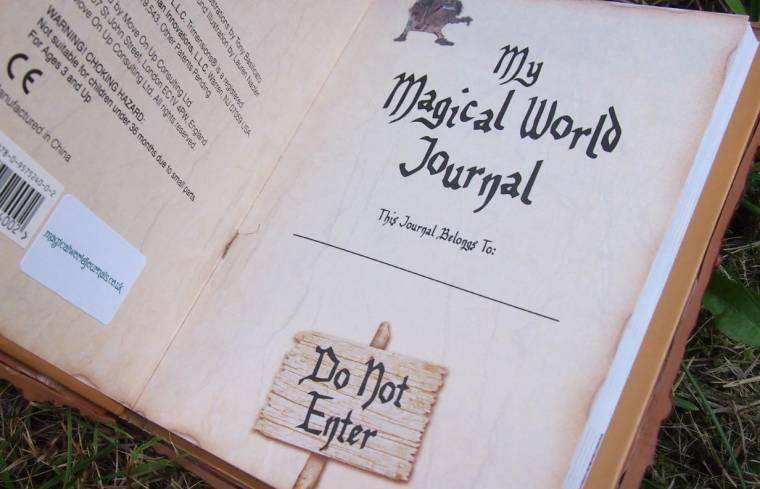 Magical World Journals: TreeMan Review