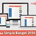 قالب 2016 Simple Banget معرب و مطور