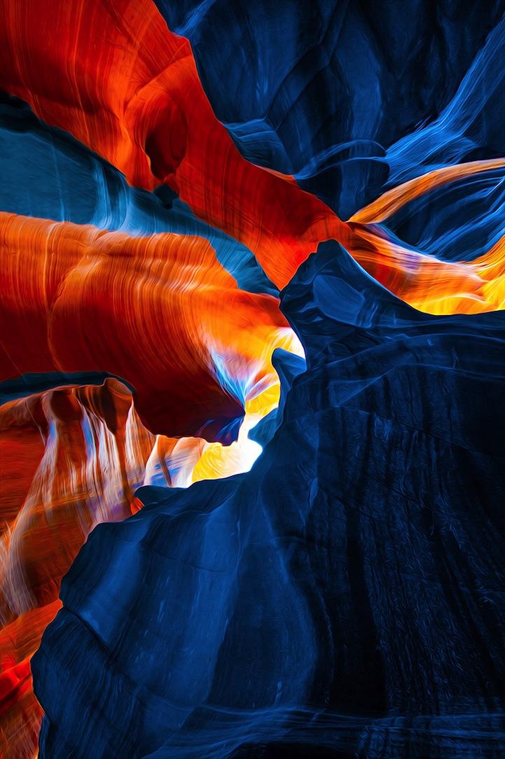 Fotos: El Cañón del Antílope por Gregory Boratyn