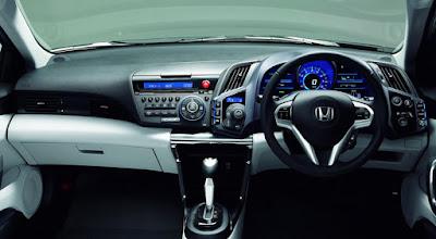 Interior Honda CR-Z Indonesia