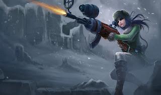 Arctic Warfare Caitlyn
