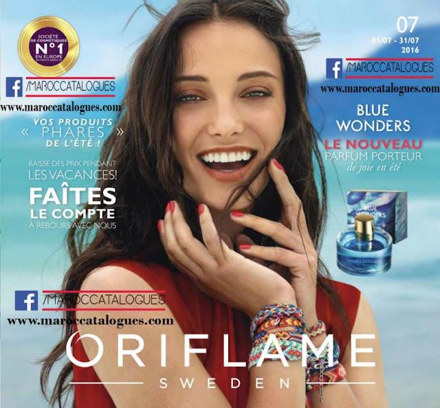 oriflame maroc juillet 2016