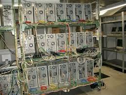 Computadores interligados em Cluster