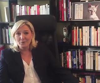 Marine Le Pen répond aux questions des Français sur Facebook : premier direct vidéo dans Economie marine%2Ble%2Bpen%2Bfacebook%2Blive