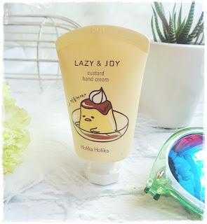 Holika Holika, Lazy & Joy, Custard Hand Cream