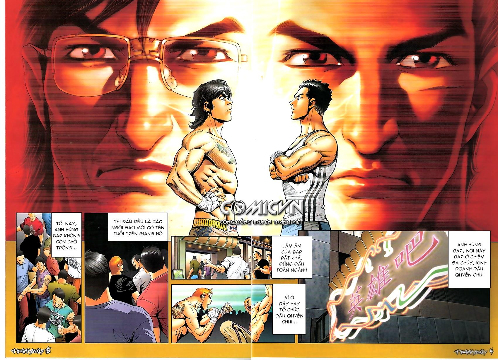 Người Trong Giang Hồ - Chapter 1306: Vinh Nhục Nhất Chiến 1 - Pic 2