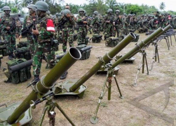 Simulasi tempur prajurit TNI Kodam Iskandar Muda