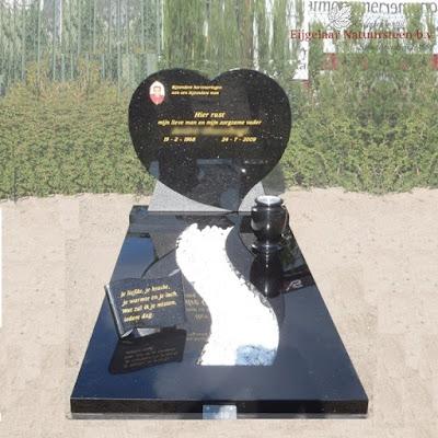 grafsteen hart, grafsteen met hart, grafmonument jart