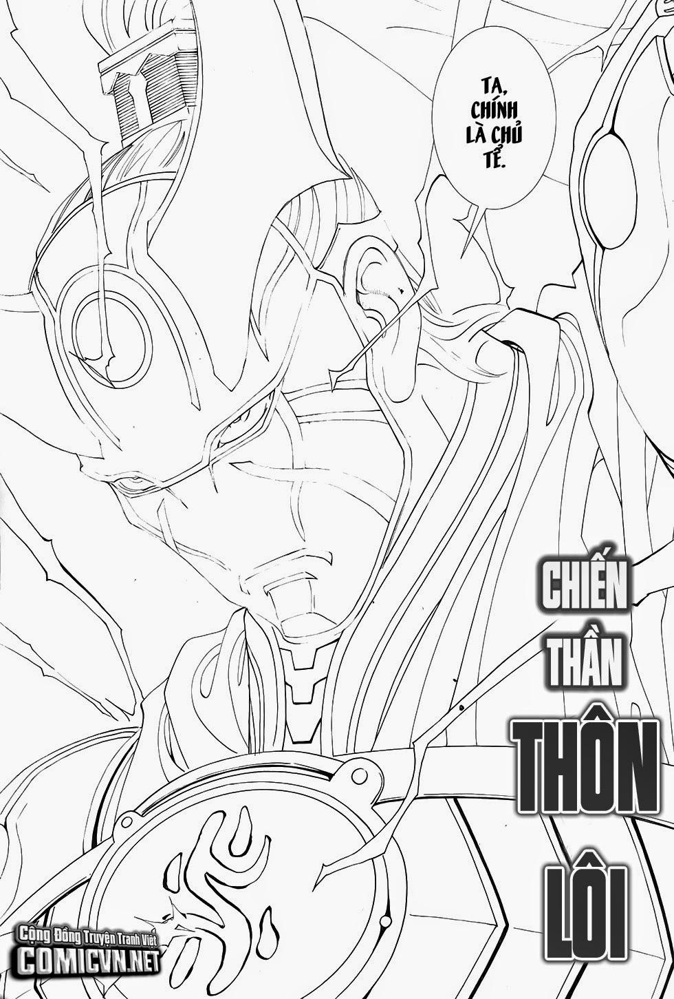 Chiến Phổ chapter 1: chiến thần lan lăng vương trang 32