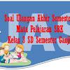 Soal UAS Mata Pelajaran SBK Kelas 3 SD Semester 1  Plus Kunci Jawaban