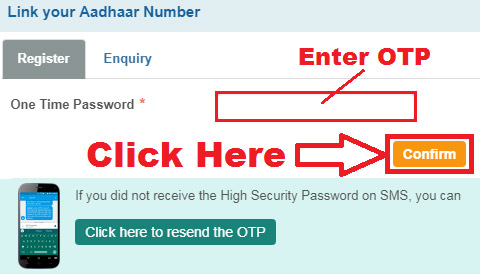 how to connect aadhar card with sbi bank account online