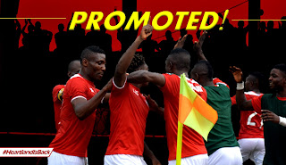 Imolites Jubilates As Heartland FC gets Promoted to Nigeria Premier League 2