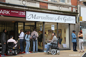 Lizzy's paintings at the Marvellous Art Gallery.   Click picture below to see her collection