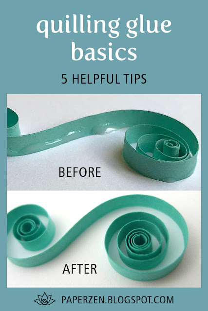 Quilling Glue Basics - 5 Helpful Tips Tutorial