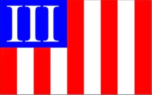 III Battle Flag