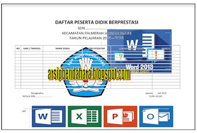 Download Buku Administrasi guru/kelas Implementasi Kurikulum 2013 Terbaru