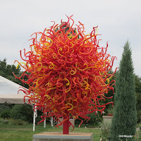 Chihuly sculpture, Denver