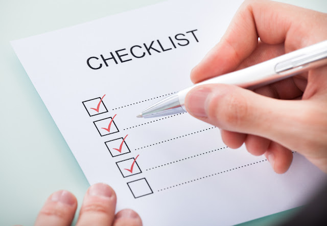 A Typical checklist
