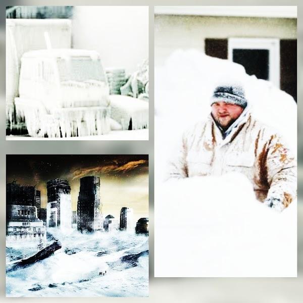 El calentamiento global traera inviernos severos en el planeta.