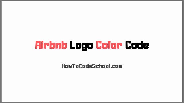 Airbnb Logo Color Codes