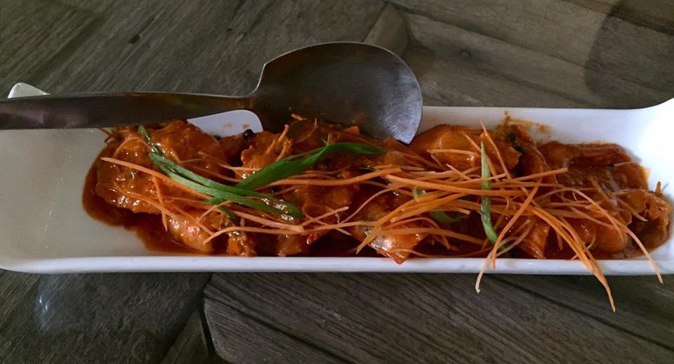 Patio Vera's Shrimp Adobo in Aligue (PHP425)
