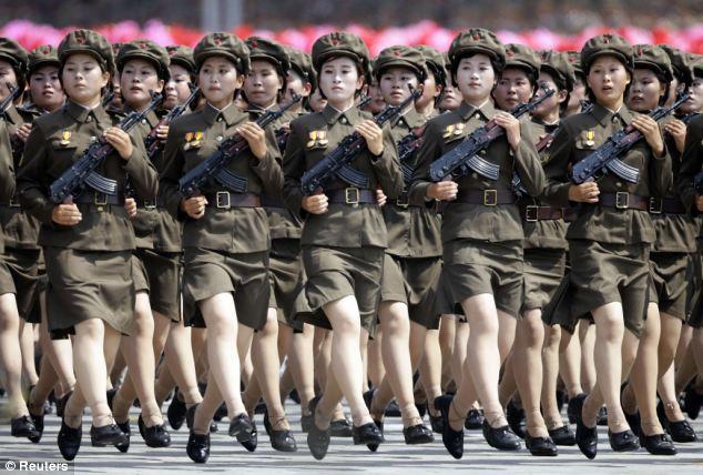 War News Updates: North Korea's Mini-Skirted Robot Army