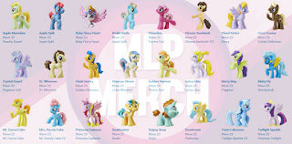 MLP The Movie Wave 23 Blind Bags Characters Overview