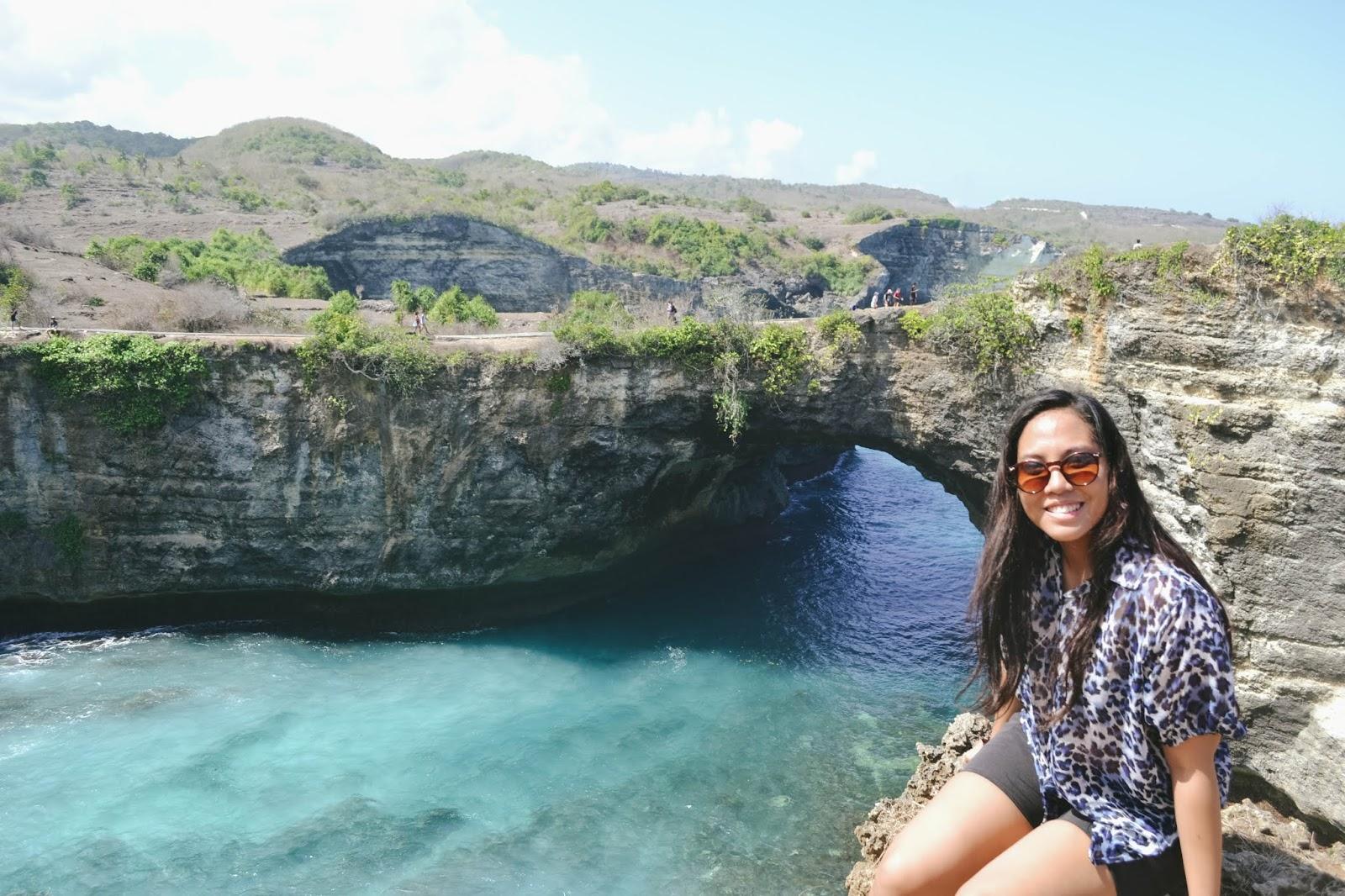 kelingking beach cliff nusa penida bali