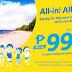 Cebu Pacific Air 999 All-In Fare Promo 2016