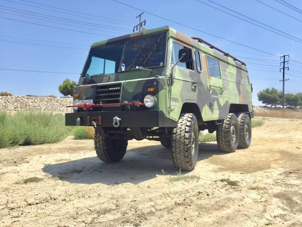 1975 Volvo TGB13 6x6 Military Vehicle