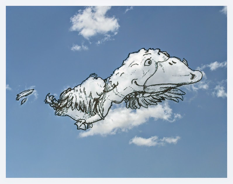 09-Big-head-Duck-Cloud-Martín-Feijoó-Images-in-the-Sky-Cloud-Drawings-www-designstack-co