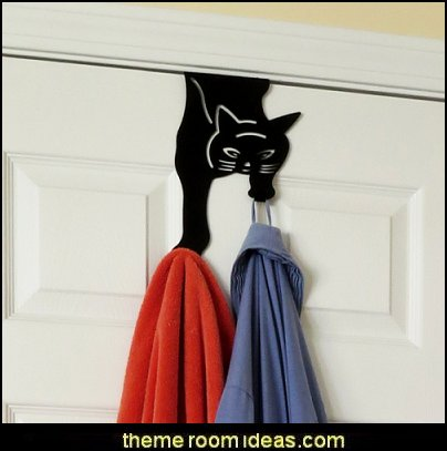 Over The Door Cat Double Hook Hanger For Home, Office & Closet Storage