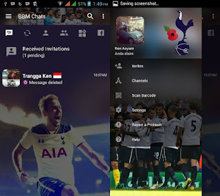 BBM Mod Tottenham Hotspur