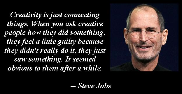 Creativity Steve jobs