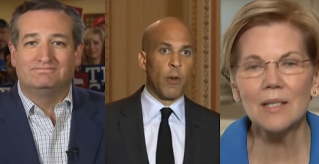 Ted Cruz Destroys Cory Booker And Elizabeth Warren In Hilarious Speech at The Gridiron Club Dinner