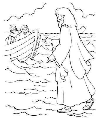 CLASE ROQUITAS: JESUS CAMINA SOBRE EL AGUA
