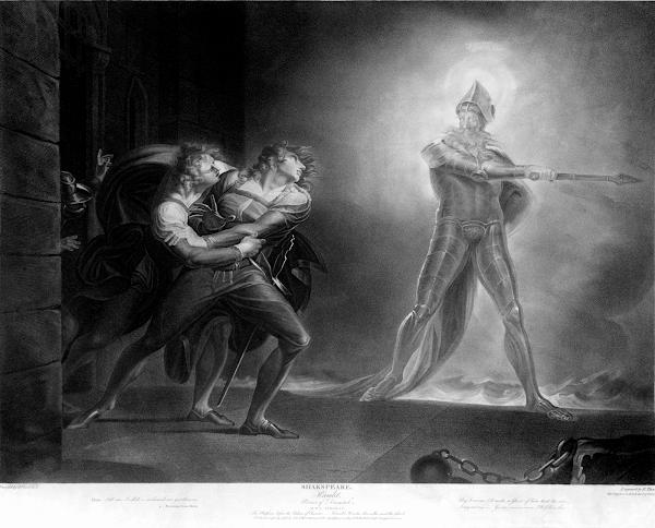 哈姆雷特遇見鬼魂