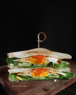 Resep Egg Sandwich Atau Sandwich Telur Simple Ala Rumahan By @dapurlinna