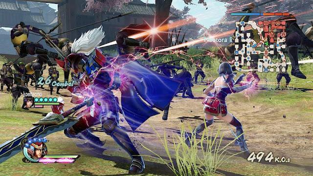 Samurai Warriors 4 II Free For PC