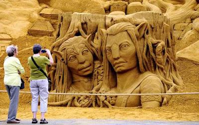 скулптури от пясък