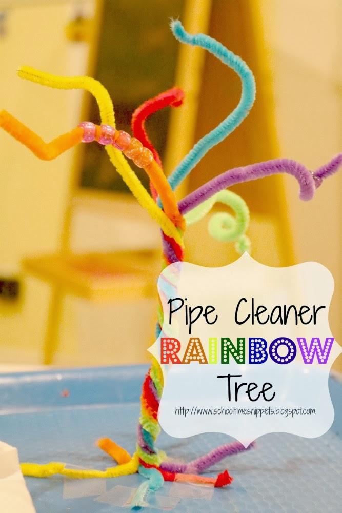 rainbow fine motor skills activity