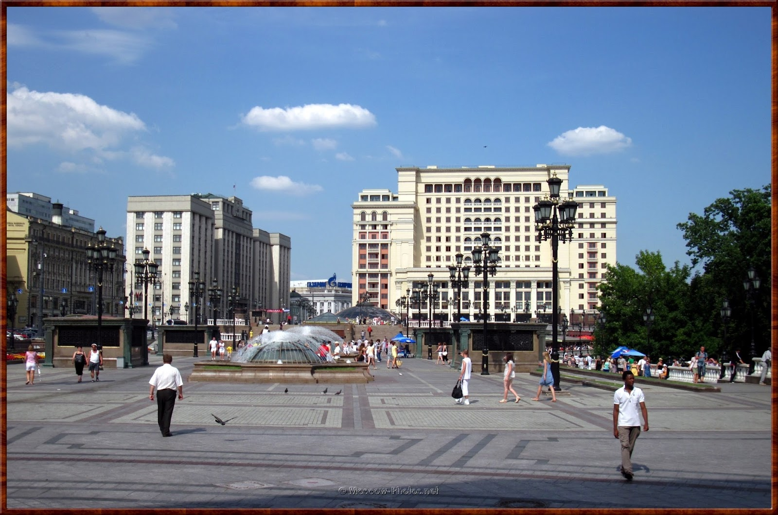 Manege Square and Hotel Moskva