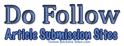 Do Follow Article Submission Sites List 2016