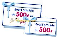 Logo Concorso Nidina: vinci gratis 10 buoni da 500 euro per Pannolini.IT