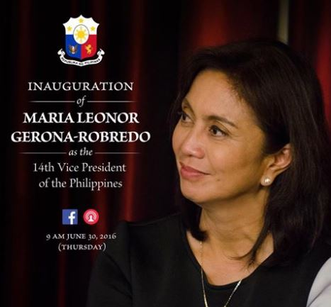 Vice President Leni Robredo Inauguration video