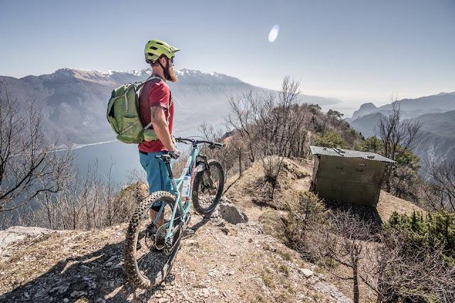 MTB Gardasee Monte Guil 1322 m.ü.A. über Passo Rocchetta 1158 m.ü.A. - Klassiker mit neuem Trail