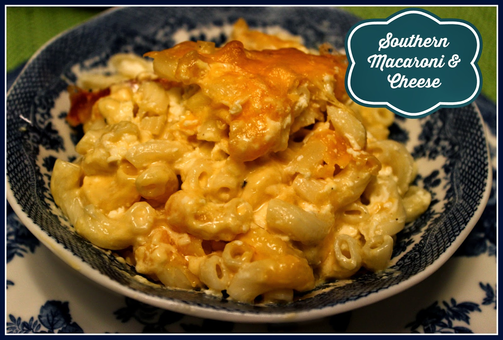Sweet Tea and Cornbread: Traditional Southern Macaroni and ...