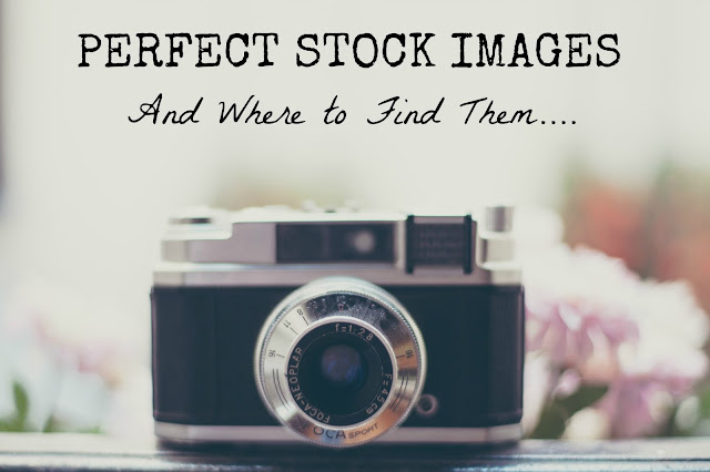 Finding and using great stock images that work perfectly with your blog or website